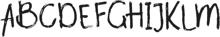 Amplifier otf (400) Font UPPERCASE