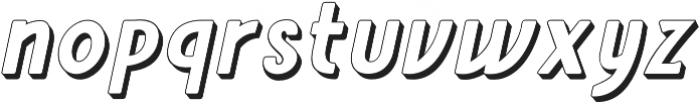 Amro Sans Extrude otf (700) Font LOWERCASE