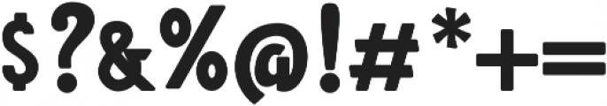 Amro Sans otf (700) Font OTHER CHARS