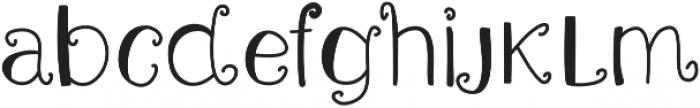 Amster ttf (400) Font LOWERCASE