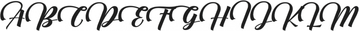 AmsterAlt ttf (400) Font UPPERCASE