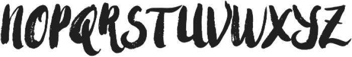 Amulhed New Update Regular otf (400) Font UPPERCASE
