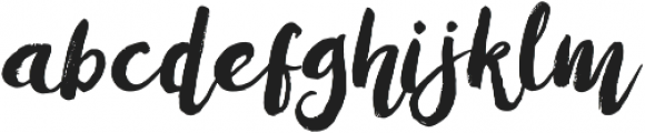 Amulhed New Update Regular otf (400) Font LOWERCASE