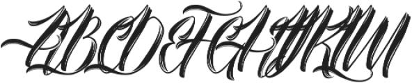 Amylight Regular ttf (300) Font UPPERCASE