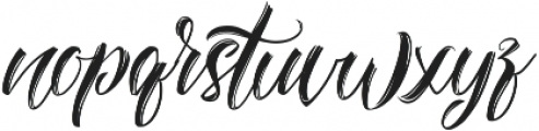 Amylight Regular ttf (300) Font LOWERCASE