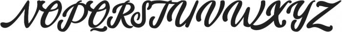amaranthine Regular otf (100) Font UPPERCASE