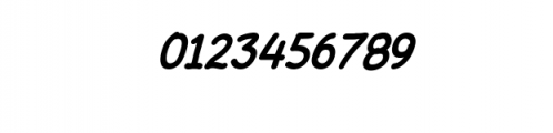 AmarillReg_Bold_It.ttf Font OTHER CHARS