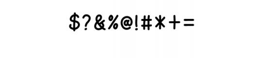 AmarillReg.ttf Font OTHER CHARS