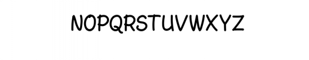 AmarillReg.ttf Font UPPERCASE