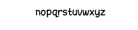 AmarillReg.ttf Font LOWERCASE