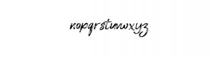 Amethyst.otf Font LOWERCASE