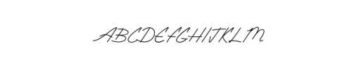 Amethyst.ttf Font UPPERCASE