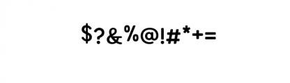 Amora-Bold.otf Font OTHER CHARS