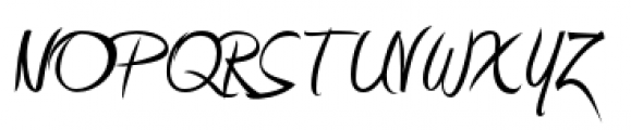 Amienne Regular Font UPPERCASE