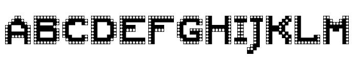 AMAZA MEDIA Regular Font LOWERCASE