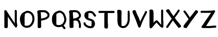 AMELIA POND Font LOWERCASE