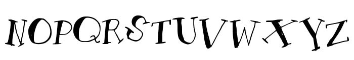 AMToon Font UPPERCASE