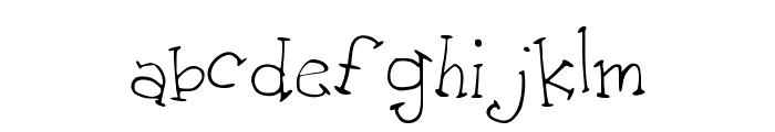 AMToon Font LOWERCASE
