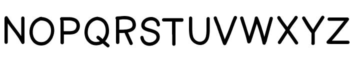 AManoRegulold Font UPPERCASE