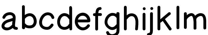 AManoRegulold Font LOWERCASE