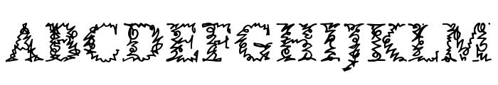 AMorrisline Font UPPERCASE