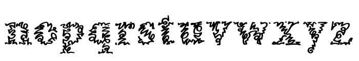 AMorrisline Font LOWERCASE