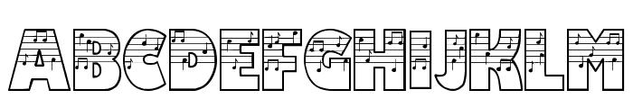 Amadeus Font UPPERCASE