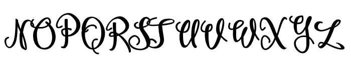 Amagh Demo Font UPPERCASE