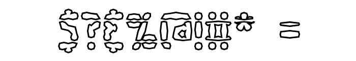 Amalgamate O BRK Font OTHER CHARS