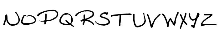Amanda Reed's Font Font UPPERCASE