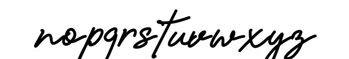 Amanda Signature Font LOWERCASE
