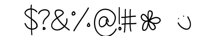 AmandaRae Font OTHER CHARS