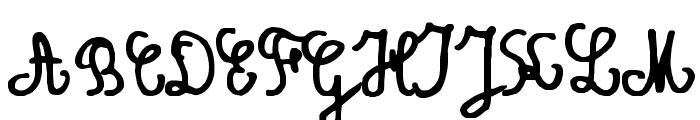 Amandine Font UPPERCASE