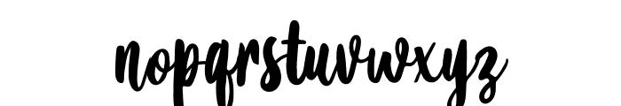 Amanise Font LOWERCASE