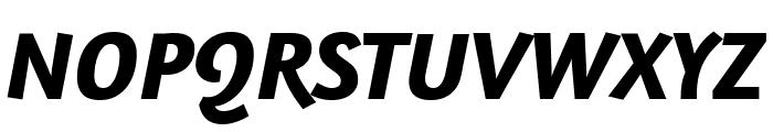 Amaranth Bold Italic Font UPPERCASE