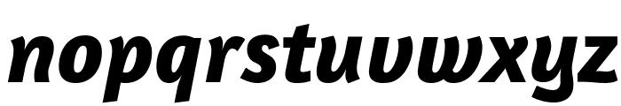Amaranth Bold Italic Font LOWERCASE