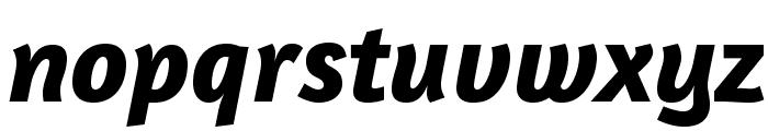 Amaranth-BoldItalic Font LOWERCASE