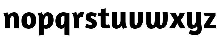 Amaranth-Bold Font LOWERCASE