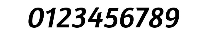 Amaranth Italic Font OTHER CHARS