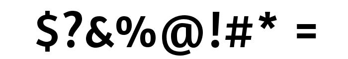 Amaranth-Regular Font OTHER CHARS