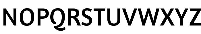 Amaranth-Regular Font UPPERCASE