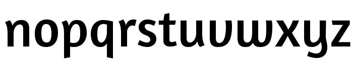Amaranth-Regular Font LOWERCASE