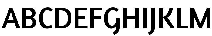 Amaranth Font UPPERCASE
