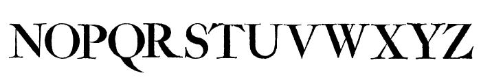 Amarfil Antiqua Font UPPERCASE
