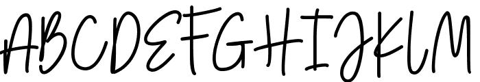 Amarilis Script Font Font UPPERCASE