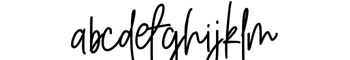 Amarilis Script Font Font LOWERCASE