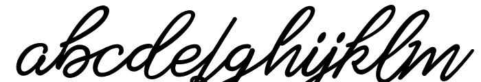 Amarula Personal Use Font LOWERCASE