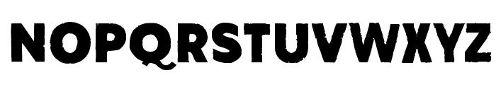 Amateur Naked Font UPPERCASE
