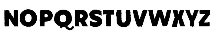 Amateur Naked Font LOWERCASE