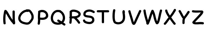 AmateurComic Font UPPERCASE